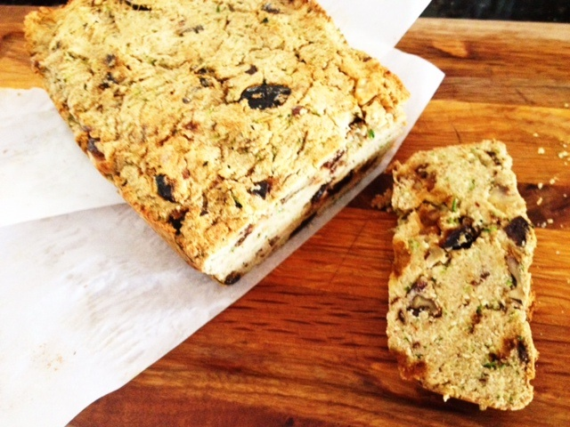paleo walnut bread